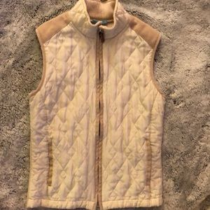 J. McLaughlin Sleevess Zip Up Vest
